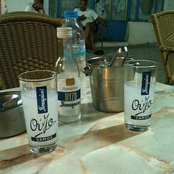 Ouzo @ Café Nio
