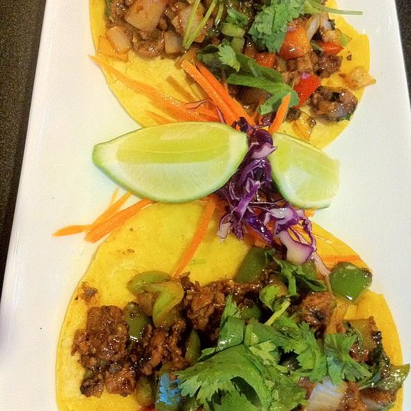 Kra Pao Tacos @ Rice & Spice Thai Cuisine