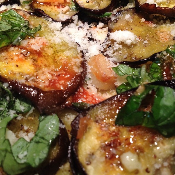 roasted eggplant @ Intensity Academy Sauces Test Kitchen