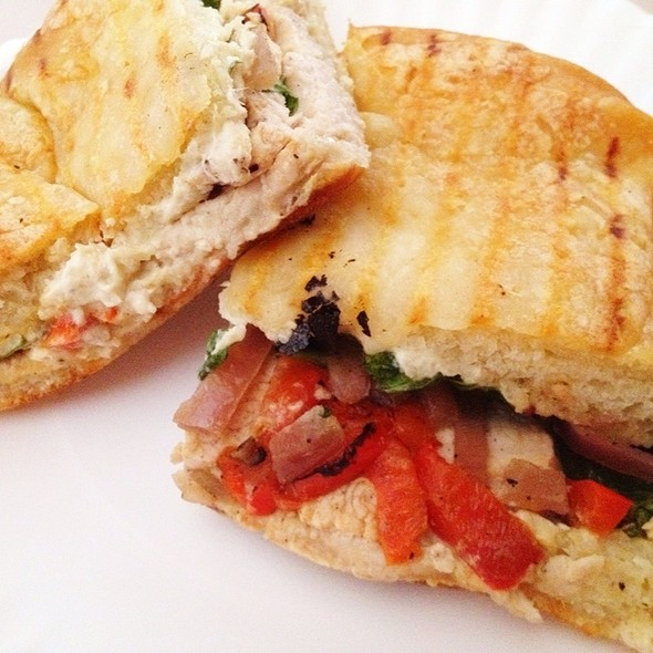 Roasted Turkey Artichoke Panini @ Panera Bread