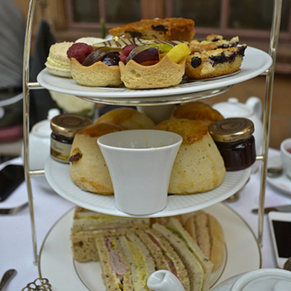 Afternoon Tea Set @ Terrace Bar at Harrod's