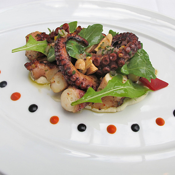 Grilled Octopus @ Maison Boulud Montreal