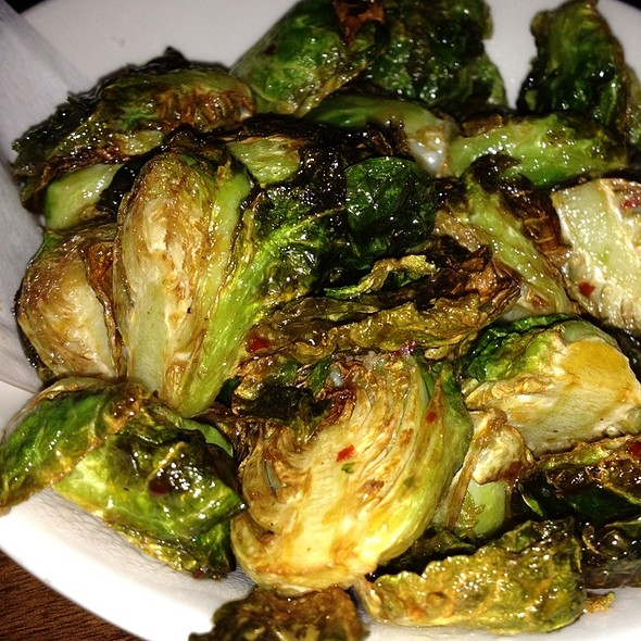 Brussel sprouts @ Uchi Houston