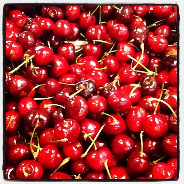 Bing Cherries @ Whole Foods Market