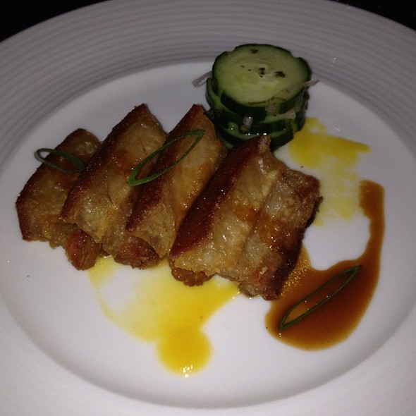 Crispy Pork Belly - The Peacock Inn, Princeton, NJ
