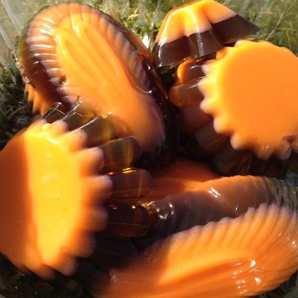 Black And Orange Gummies