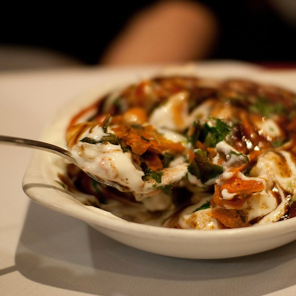 Spinach Chaat @ Malabar Indian Restaurant