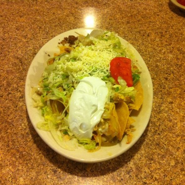 Nachos Supreme @ El Nopal Mexican Restaurant