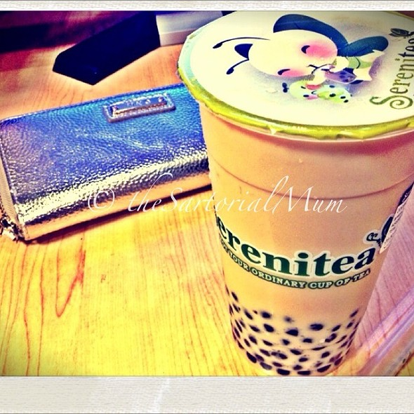 Wintermelon Milktea Classic With Pearls @ Serenitea
