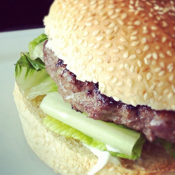 Beef Burger @ Dean and Deluca