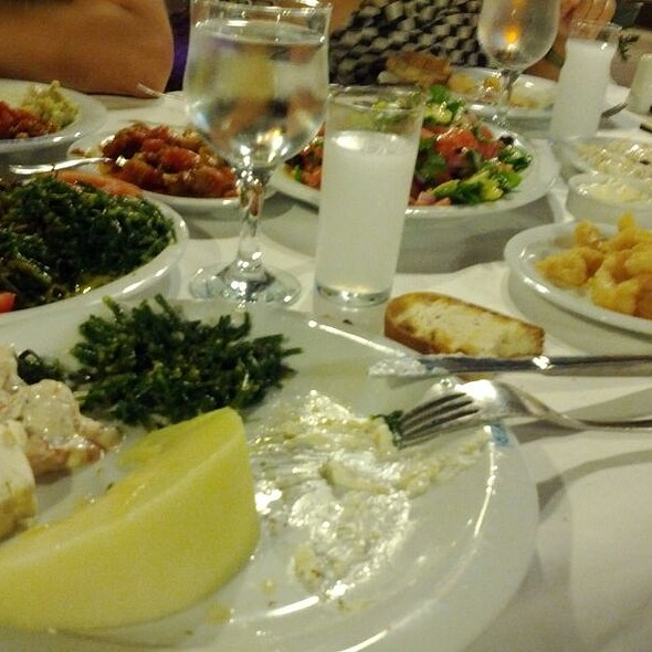 Raki Mezeleri @ Dalyan Restaurant