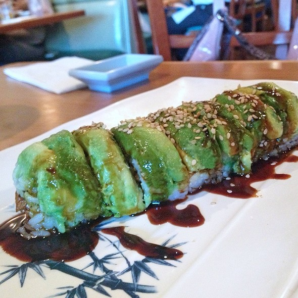 Sunset Sushi Roll