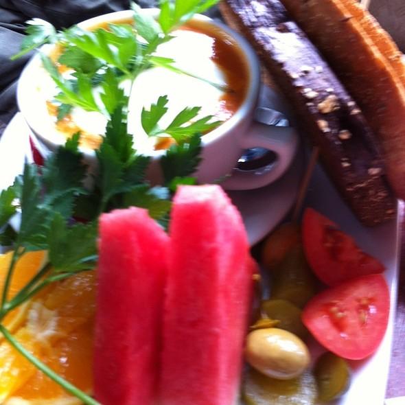 Hot Pepper Soup @ cafe bassam