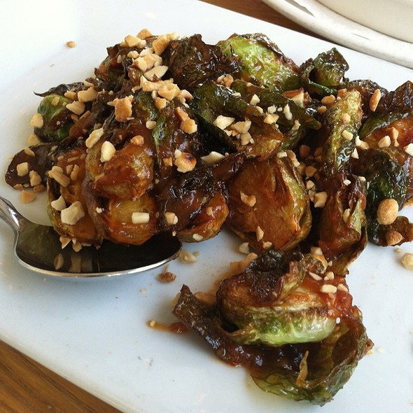 Candied Brussel Sprouts @ Ripe Eatery & Market