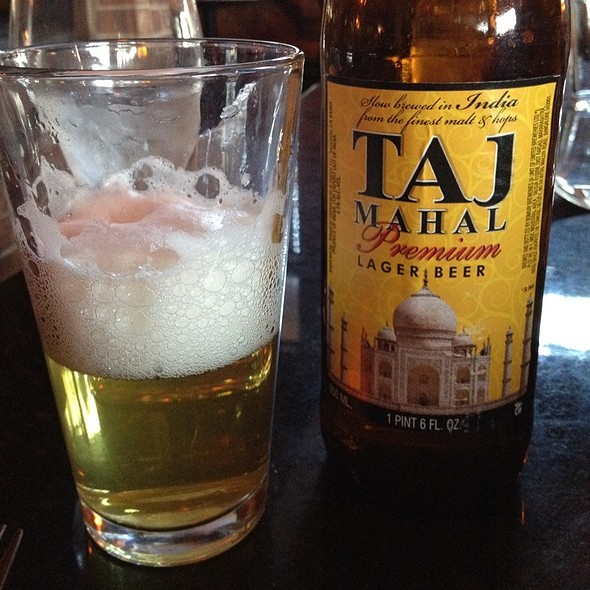 Taj Mahal Lager - Little India Restaurant - Belmar, Lakewood, CO