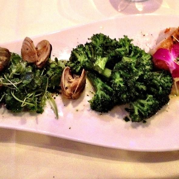 Seared Sea Bass - Olivos Restaurant, Doral, FL