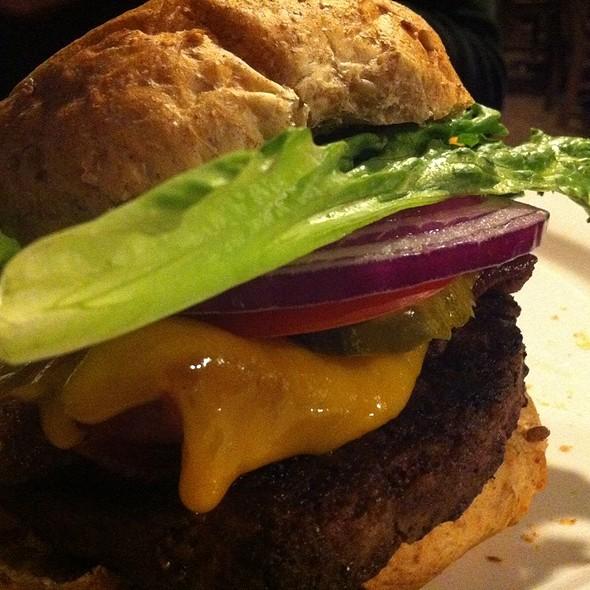 Dam Burger @ Dillon Dam Brewery