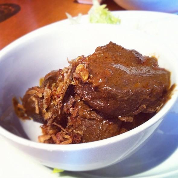 Beef Rendang @ Garamerica