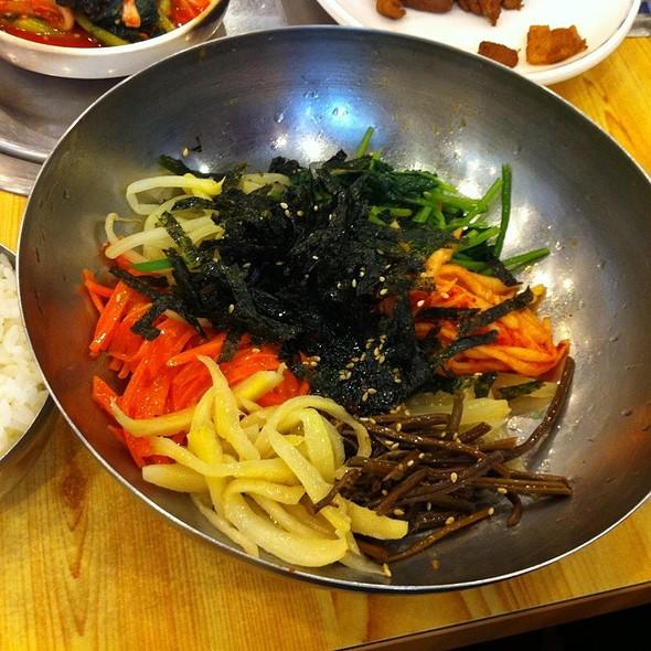 비빔밥 @ 대청마루