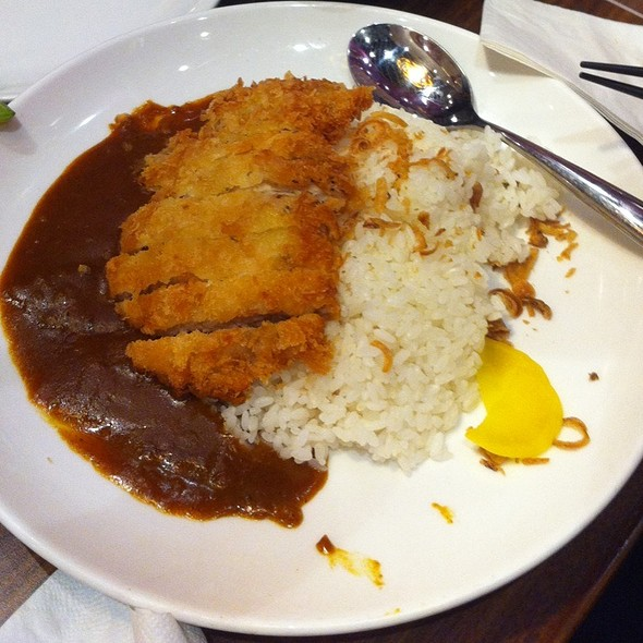 Curry Rice with Pork Cutlet @ Wild Ginger