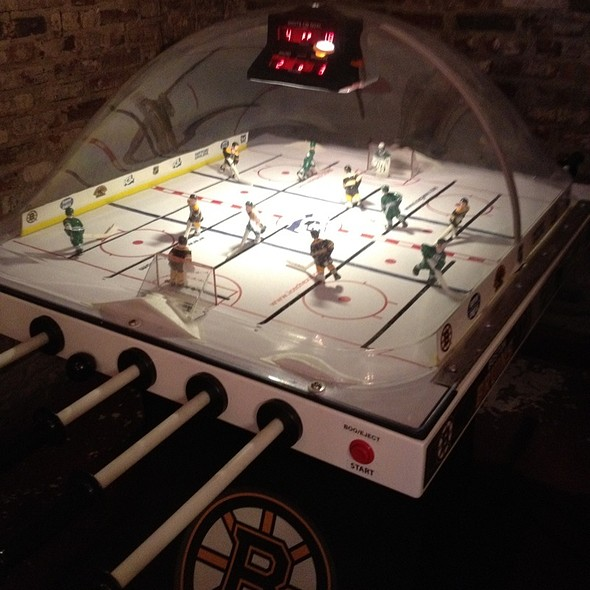 Bubble Hockey @ jm Curley