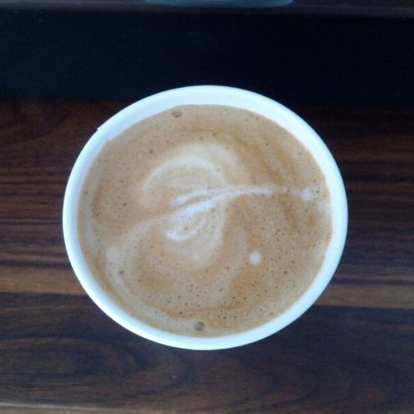 Housemade Almond Milk Latte  @ Farm Table