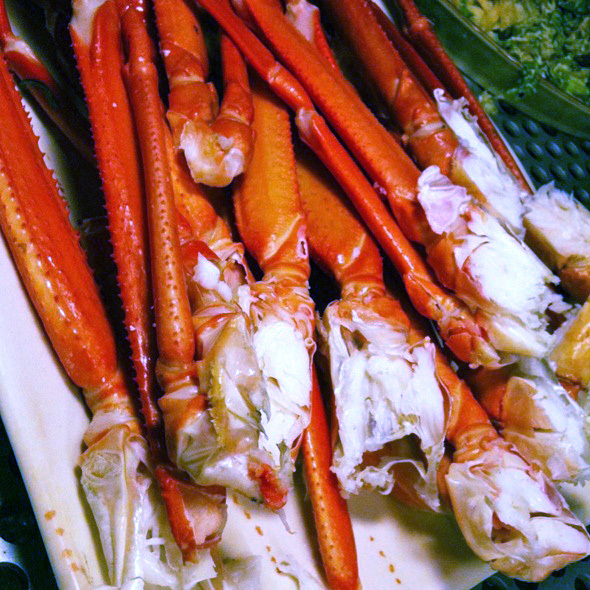 Alaskan King Crab Legs @ Buffet Fortuna