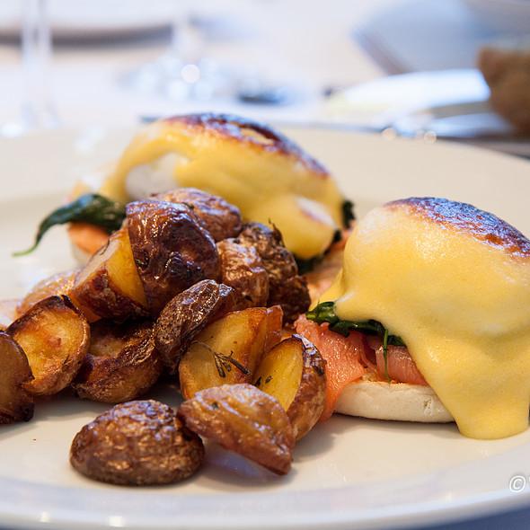 Smoked Salmon Benedict @ Chaya Brasserie