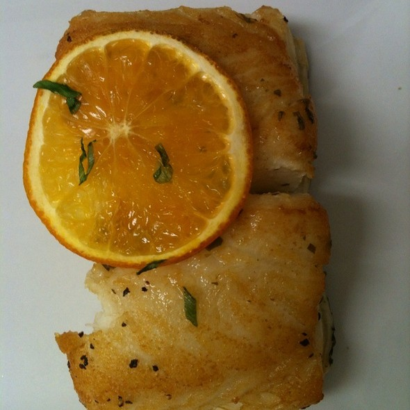 Citrus Yuzu Sea Bass