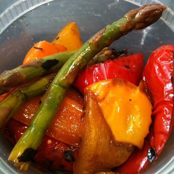 Grilled Peppers W Asparagus