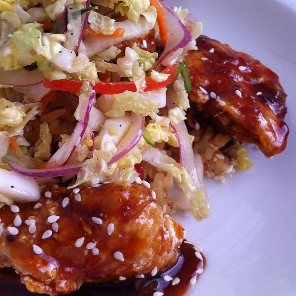 General Tso's Chicken - Cru Cafe, Charleston, SC