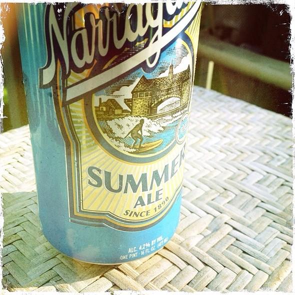 Narragansett Summer Ale @ Worcester, MA