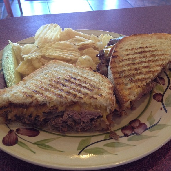 Cowboy Bob Sandwich @ Walden's Coffeehouse