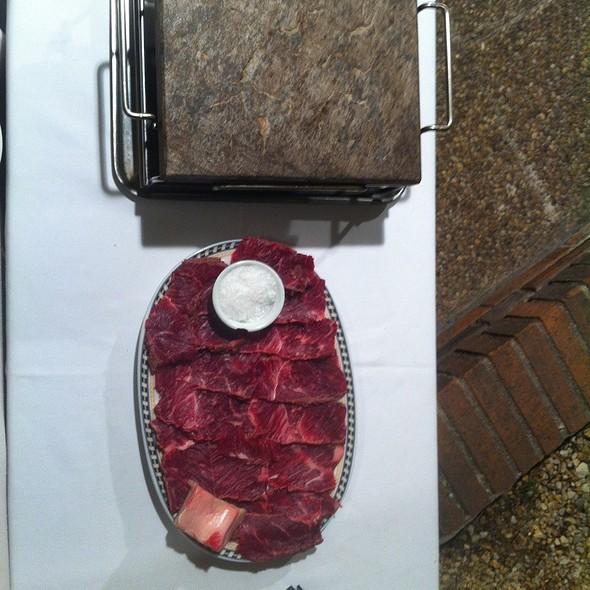 Carne a la piedra @ El Molino Viejo