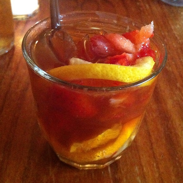 Pimm's Cup @ The Dandelion