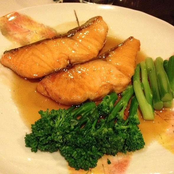 Teriyaki Salmon @ Kenzan Japanese restaurant