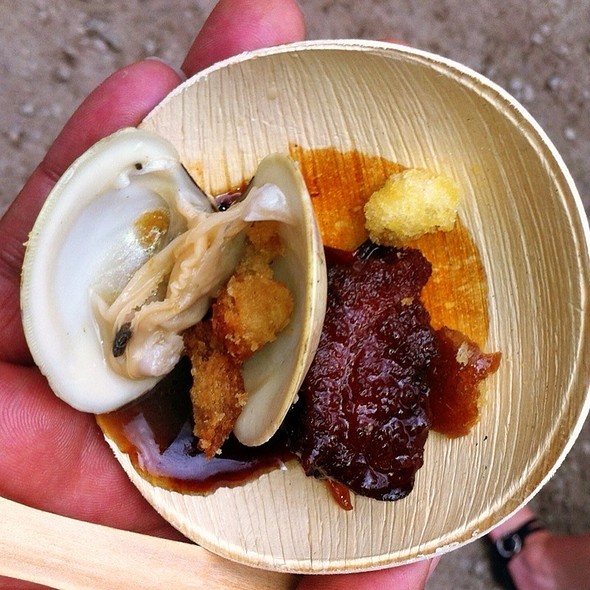 Clam And Belly @ Rising Star Chef Awards Ceremony