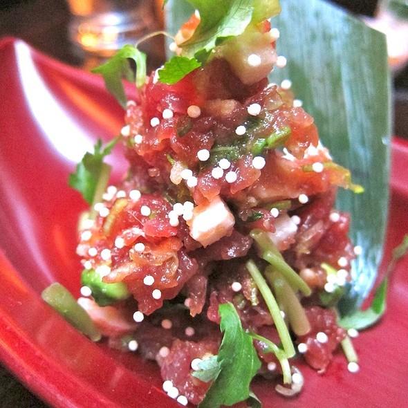 Maguro Tataki @ Omen Restaurant