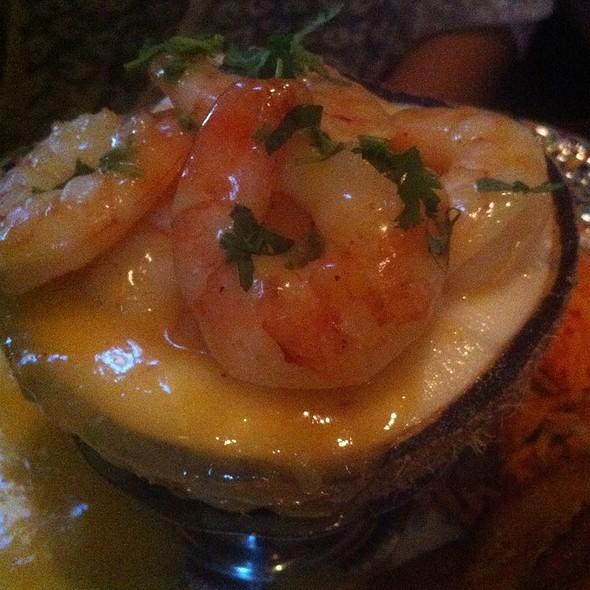 Shrimp On A Coconut Bowl  - La Casa De Pedro, Watertown, MA