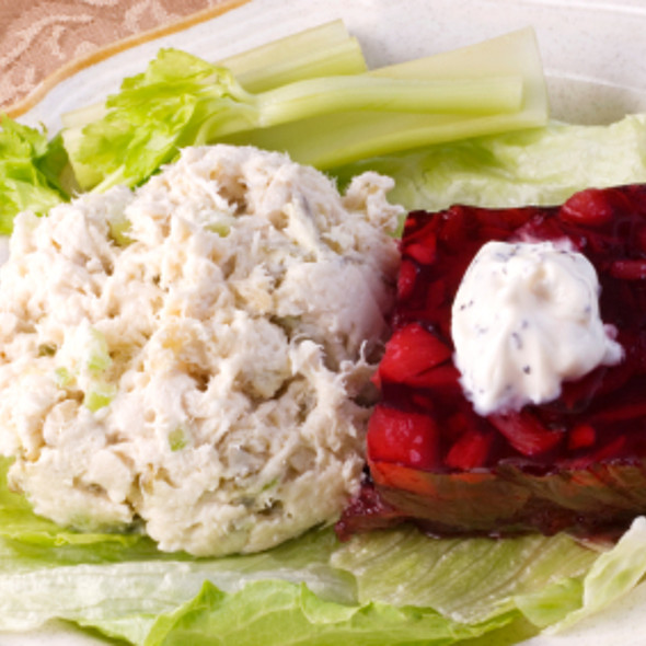 Turkey Salad with Almonds and Raisins @ Gourmet Recipe