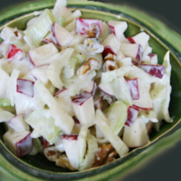 Crunchy Winter Salad @ Gourmet Recipe