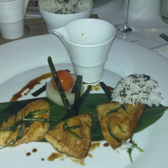 Sesame Rice & Mahi Mahi