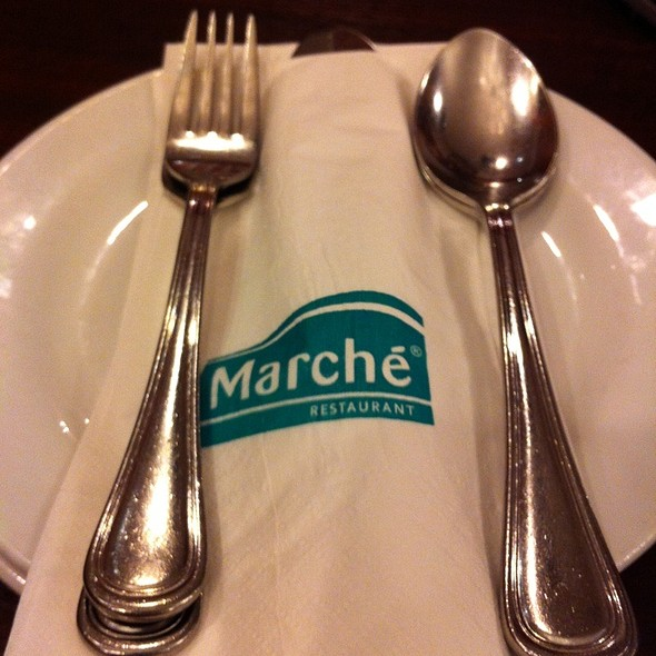 Just D Plate @ Marche Restaurant