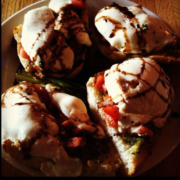 Bruschetta - Charlie's Restaurant and Irish Pub at the Water Street Inn, Stillwater, MN
