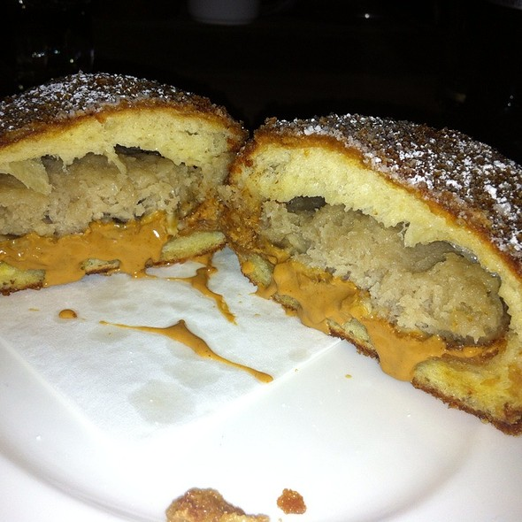 Fried Peanut Butter & Banana Sandwich With Bourbon And Vanilla @ The Breslin