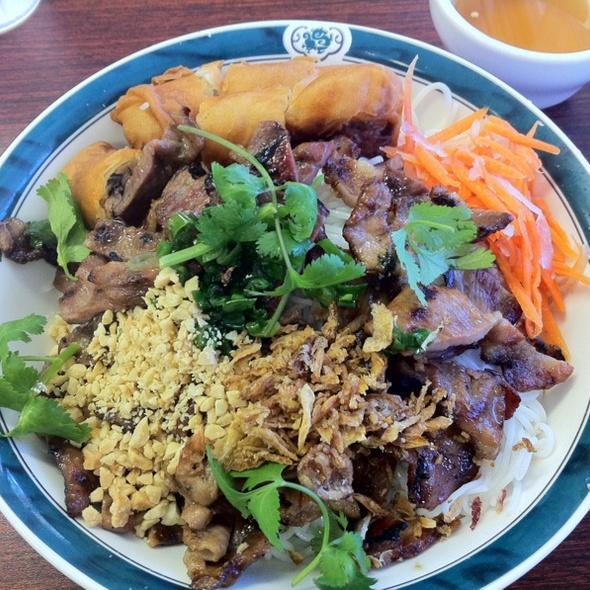 Bun Cha Gio Thit Nuong @ Pho Tam Restaurant