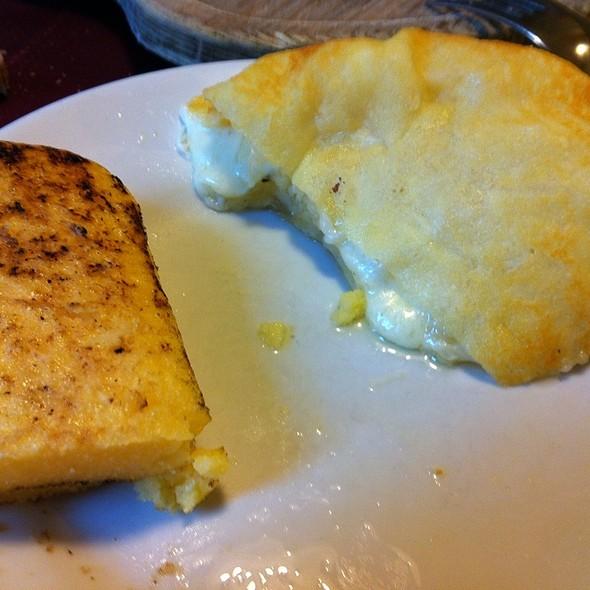 Frico con patate e polenta @  Al Campanile