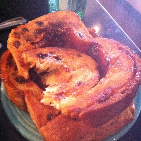 cinnamon raisin toast @ Afternoon Delight