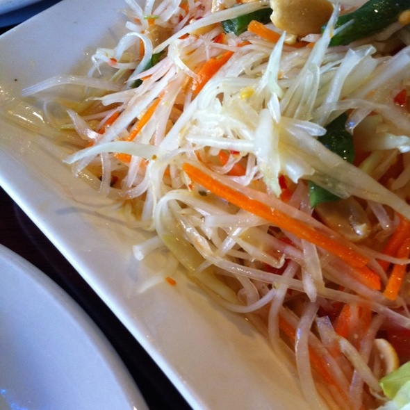 Papaya Salad @ Opart Thai House Restaurant