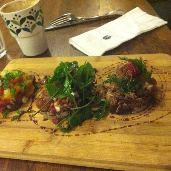 Smorrebrod Plate @ Café Ellefsen